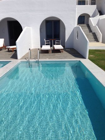 Lindos Sun Hotel: Room with private pool.