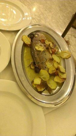 Ristorante Tirreno: Dentice in crosta di patate