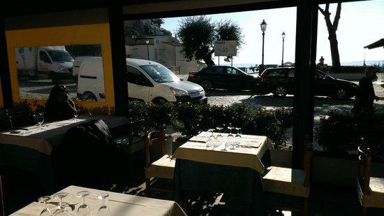 Ristorante Tirreno: Vista dal ristorante