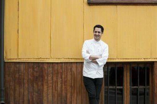 Palacio Astoreca Hotel: Francisco Araya, chef del Restaurant Alegre