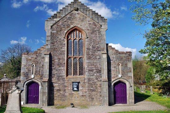 Kilmartin Museum Cafe: Kilmartin Church Purple Doors