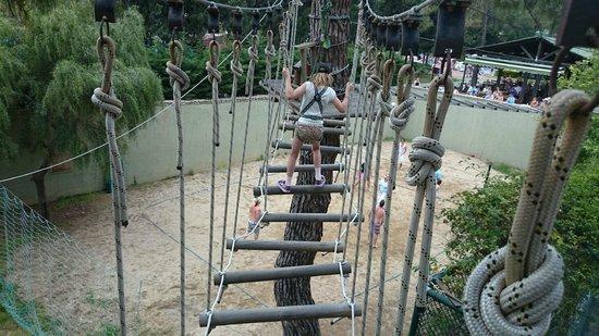 Grand Yazici Club Turban: Adrenaline High Ropes Course