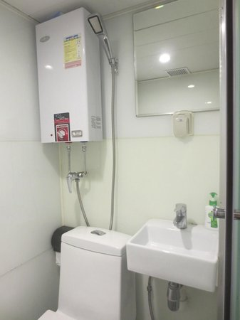 Small Bathroom Design Hong Kong very small bathroom - picture of i-hotel limited, hong kong