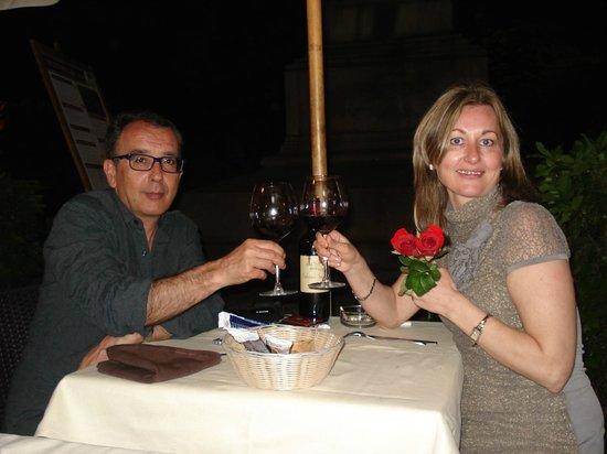 La Casa di Piero al Vaticano: cena en restaurante