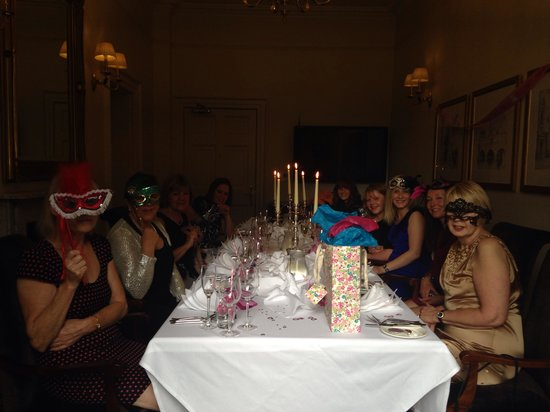Bailbrook House Hotel : Hen party at Bailbrook house