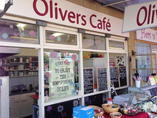 Olivers cafe morecambe: Oliver's cafe