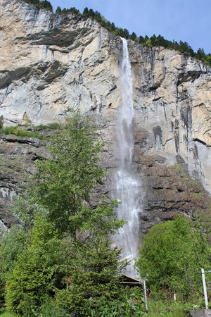Lauterbrunnen: just one of the many amazing falls!