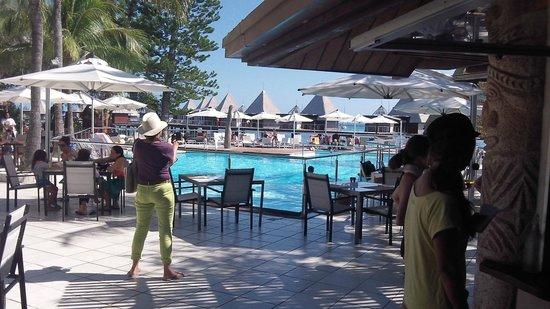 L'Escapade Island Resort: terrasse