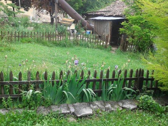 Rasitler Bag Evi: konağın bahçesi