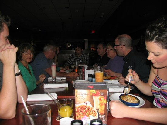 Uno Chicago Bar & Grill: This is from our visit in 2012..