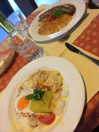 Hotel Oberland Restaurant: so delicious!