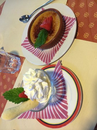Hotel Oberland Restaurant: the best desert ever!!