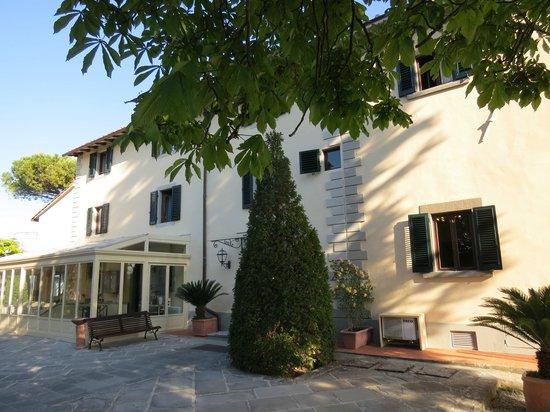Villa I Barronci: Hauptgebäude