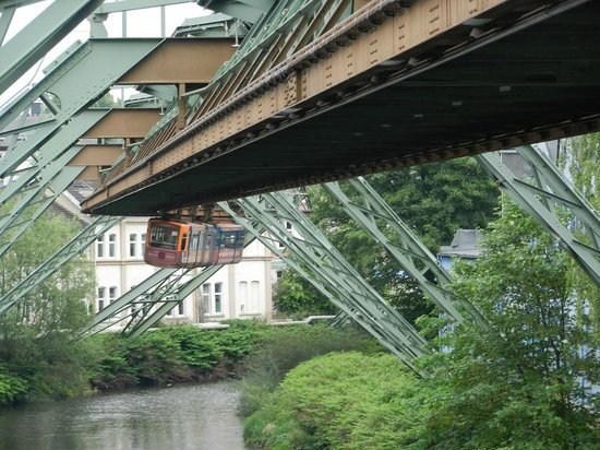 The Wuppertal Suspension Railway: Suspended Above The River