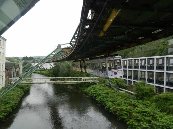 The Wuppertal Suspension Railway: Taking a Banked Turn