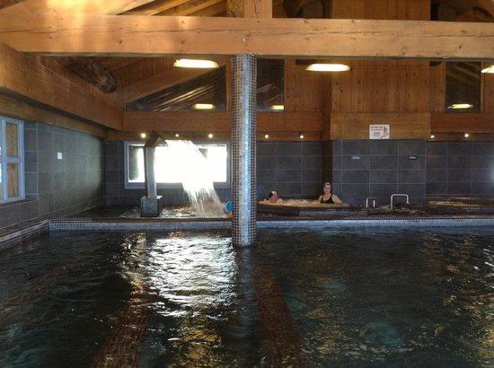 Hotel l'Ecrin du Val Claret : Аква комплекс