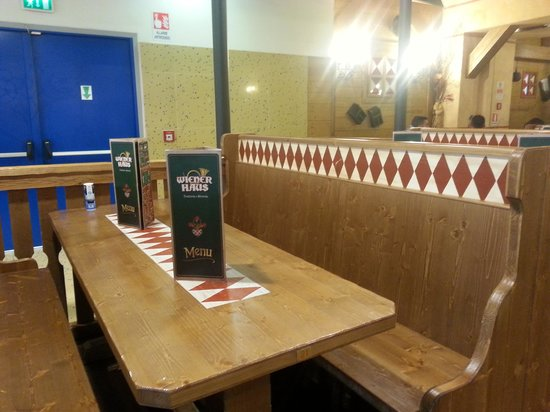 Wiener Haus: locale