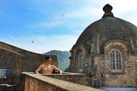Albergo Il Monastero : terrazza della camera