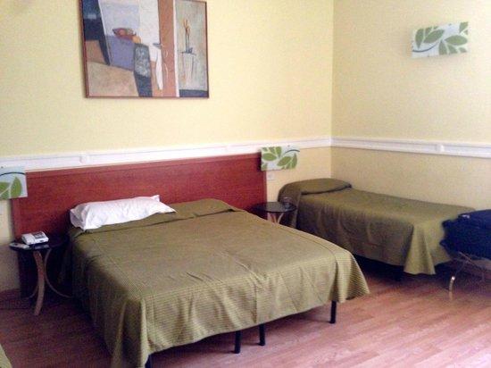 Hotel St. Moritz: Hostel style room