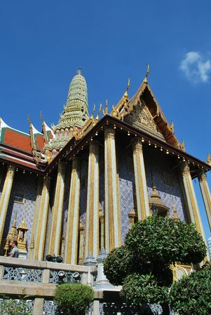 Temple du Bouddha d'Émeraude (Wat Phra Kaeo) : copertura