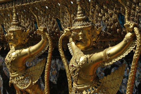 Temple du Bouddha d'Émeraude (Wat Phra Kaeo) : particolari
