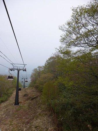 Mt Jeans Nasu : ゴンドラはこんな感じです。