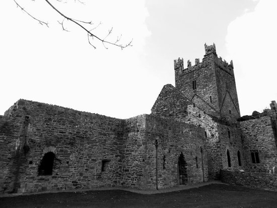 Jerpoint Abbey: Outside view