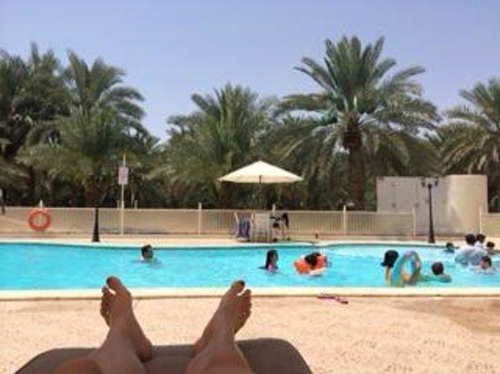 Asfar Resorts Al Ain: Pool view
