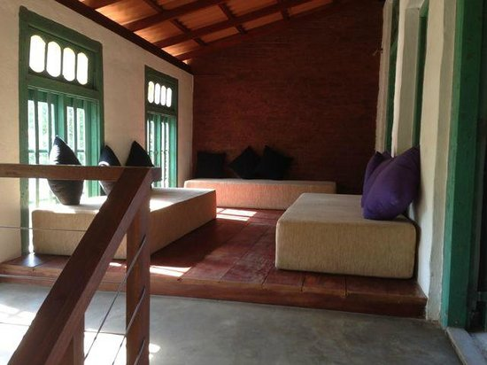 Villa Balapitiya Beach: Second floor sitting area