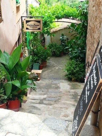 QuitaPenas Valldemossa: Zugang zum Lokal