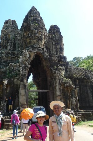 Journey Angkor: Mr. Pal Saruon and I