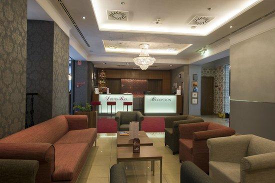 The Three Corners Hotel Bristol : Lobby