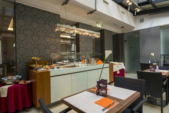 The Three Corners Hotel Bristol : Breakfast area
