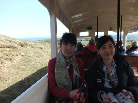 Great Orme Tramway: On the way down
