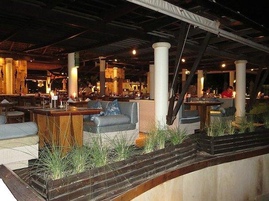 Melati Beach Resort & Spa : The View Restaurant