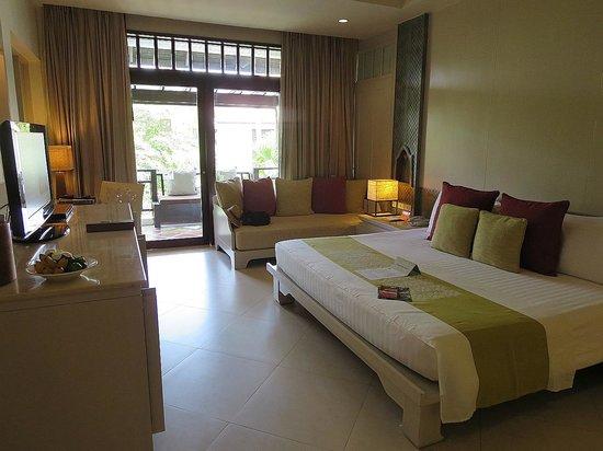 Melati Beach Resort & Spa : spacious bedroom
