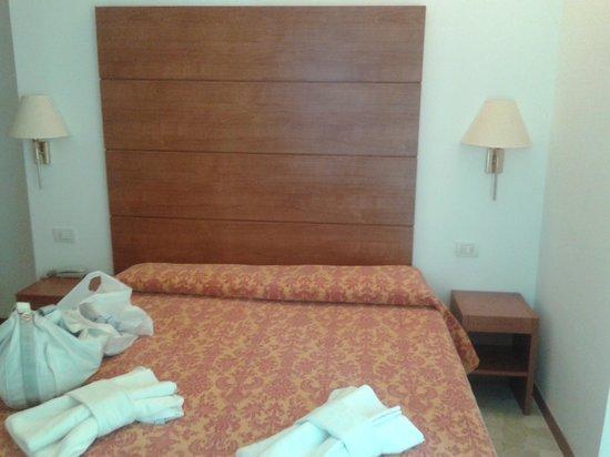 Hotel Villa del Parco: Una camera semplice ma funzionale