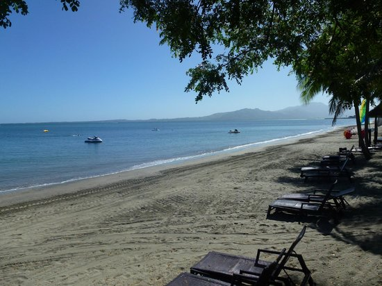 Sofitel Fiji Resort & Spa: The beach at the Sofitel