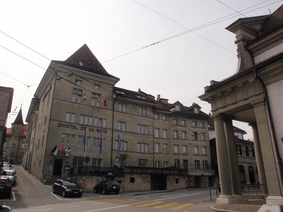 Hotel de la Rose : Fachada principal del hotel