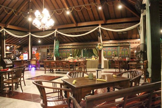 Dusun Jogja Village Inn: Restaurant
