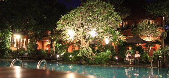Dusun Jogja Village Inn: Pool Area
