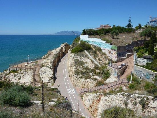 Aqui TE Espero: Coastal walk crossing old railway route