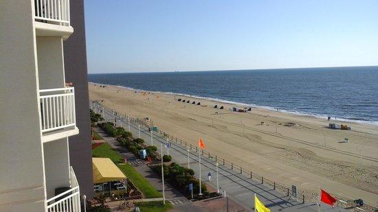 Residence Inn Virginia Beach Oceanfront : balcony view