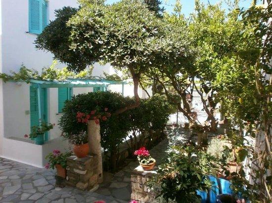 Hotel Aegean Village: Notre studio hôtel
