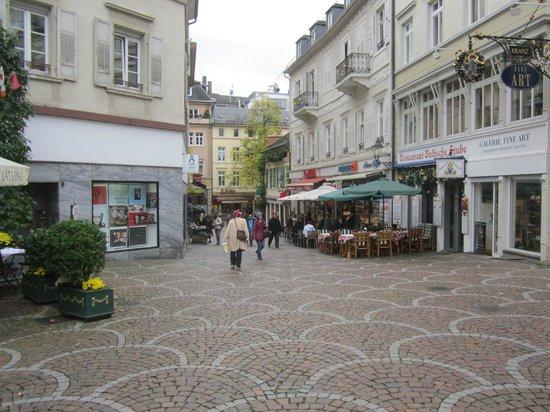 Hotel zum Goldenen Lowen : area around