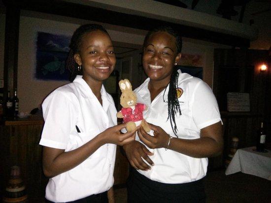 Belizean Dreams Resort : Two amazing Volleyballers