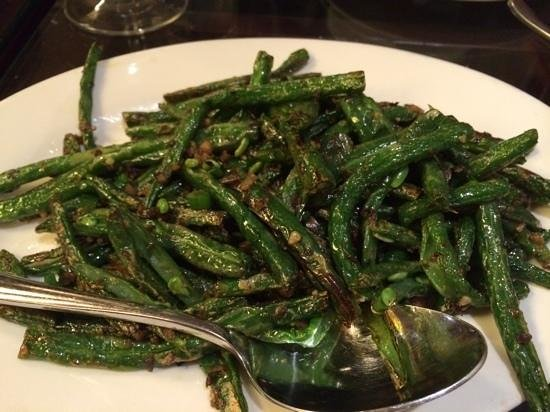 "Photo: ""stirfried green beans with pork mince (also good value at $ ..."