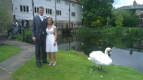 Tuddenham Mill: Great background for Wedding Photos
