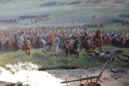 Waterloo Battlefield: panorama