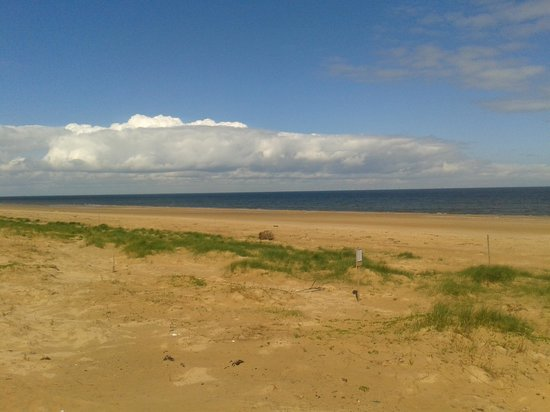 RSPB Titchwell Marsh: The beautiful and deserted beach :)